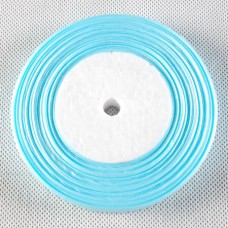 JO-11 Organzos juostelė  Light Blue Sheer (13mm),1 m