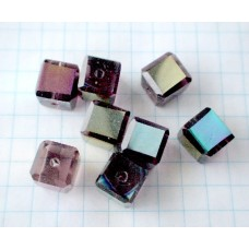 N-20 Crystal  BURGUNDY (8mm),1 vnt.