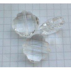 NF-12 Clear Crystal Quartz (18mm),1vnt.