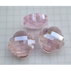 NF-13 Pink Crystal Quartz  (18x18mm),1vnt.