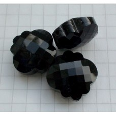 NF-16 Black Crystal Quartz  (18mm),1vnt.